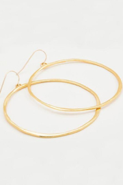 Gorjana G Ring Hoop Earrings - Front cropped