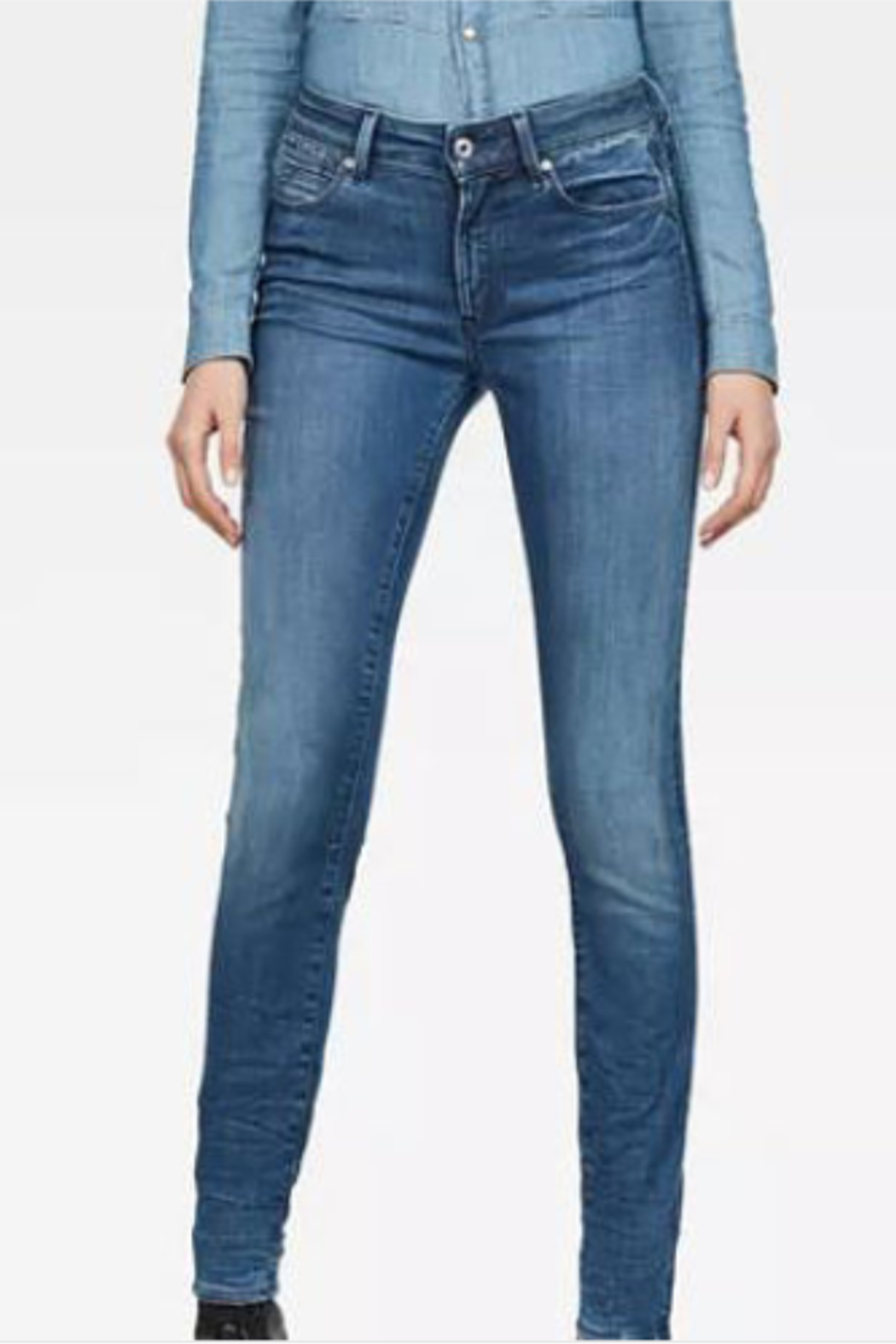 G-star Shape High Skinny Jean - Front Cropped Image