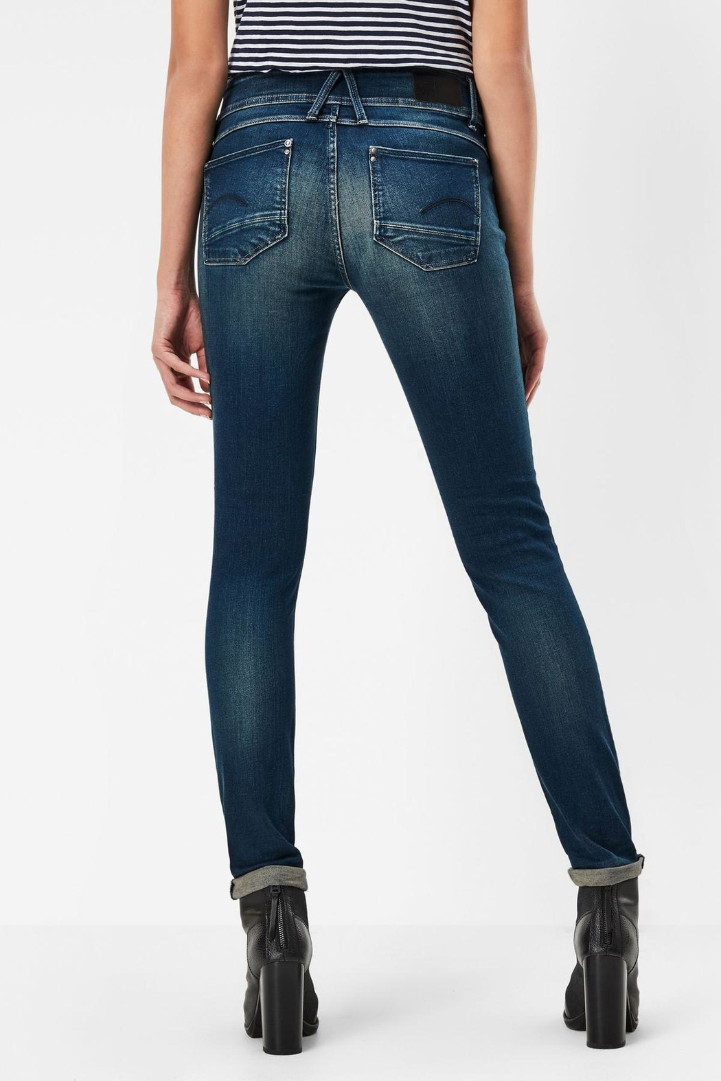 g star raw lynn skinny jeans from ontario by i n boutique shoptiques. Black Bedroom Furniture Sets. Home Design Ideas