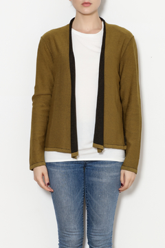 Shoptiques Product: Contrast Edge Cardigan