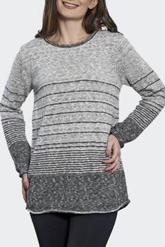 Shoptiques Product: Stripe Long Sweater