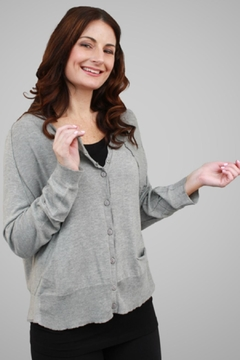 Shoptiques Product: Asymmetrical Seam Cardigan