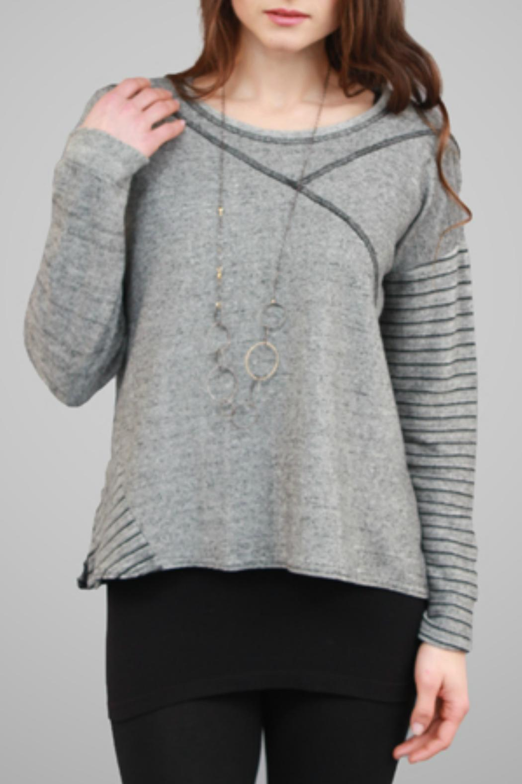 G9C United Knitwear Crop Cotton Sweater from Cambria by New Moon ...