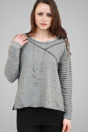 G9C United Knitwear Heather Crop Sweater - Product Mini Image