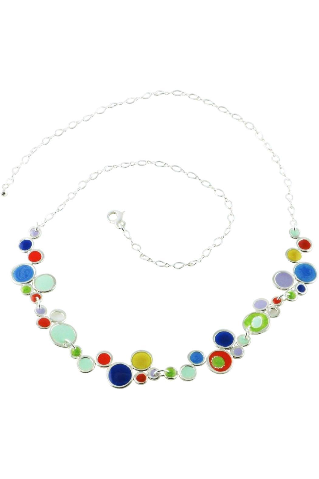 G Gallery & Glass Studio Bubble Link Necklace - Main Image