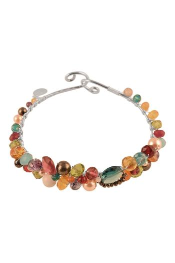 G Gallery & Glass Studio Gemstone Silver Bracelet - Main Image