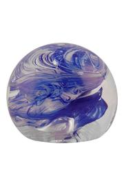 G Gallery & Glass Studio Glass Paperweight - Front cropped
