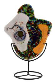 G Gallery & Glass Studio Glass Sculpture Freeform - Front cropped