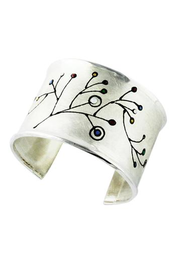 G Gallery & Glass Studio Sterling Silver Cuff - Main Image