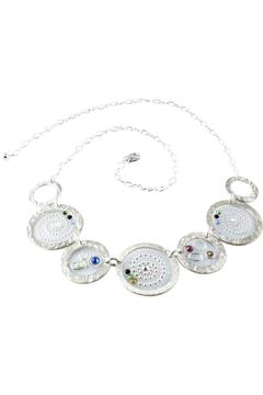 Shoptiques Product: Sterling/swarovski Necklace