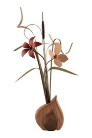 G Gallery & Glass Studio Wood Wildflowers - Front cropped