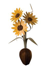 G Gallery & Glass Studio Wood Wildflowers - Product Mini Image