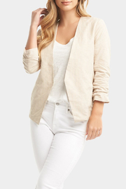 Tart Collections Gabby Linen Blazer - Product Mini Image