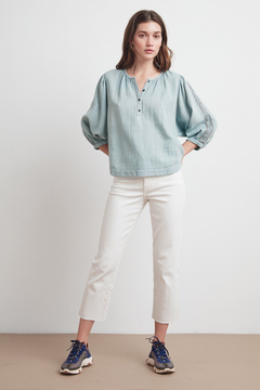 Velvet by Graham & Spencer  Gabby Lyon Peasant Blouse - Product List Image