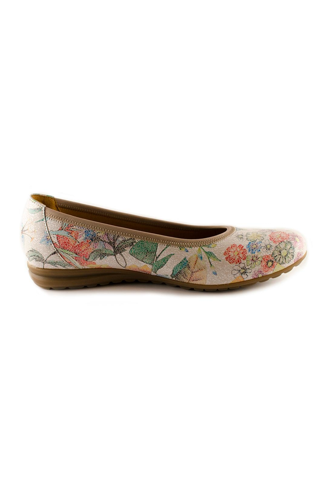 Gabor Rayah Flat Shoes - Front Full Image