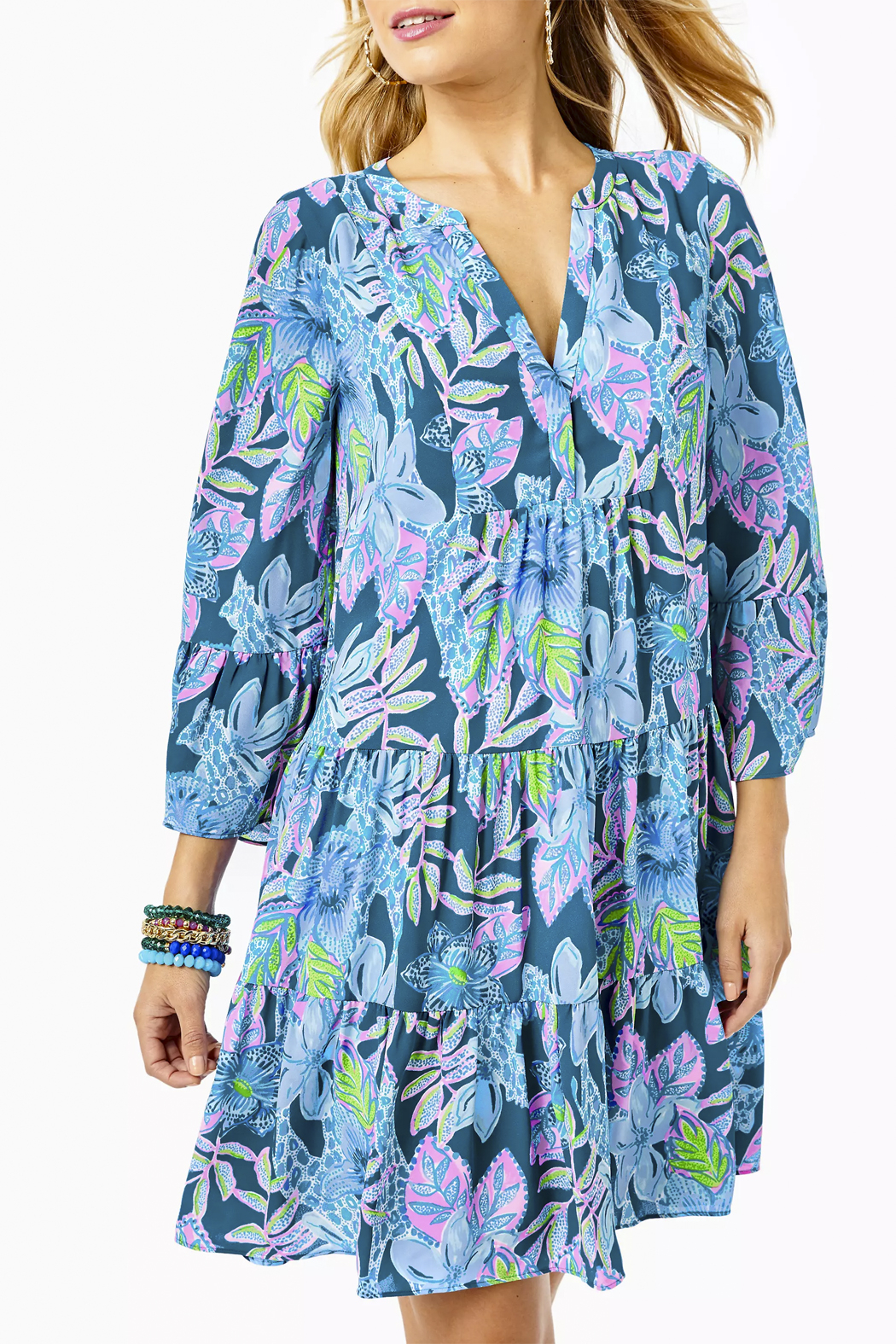 Lilly Pulitzer  Gabriel Dress - Back Cropped Image