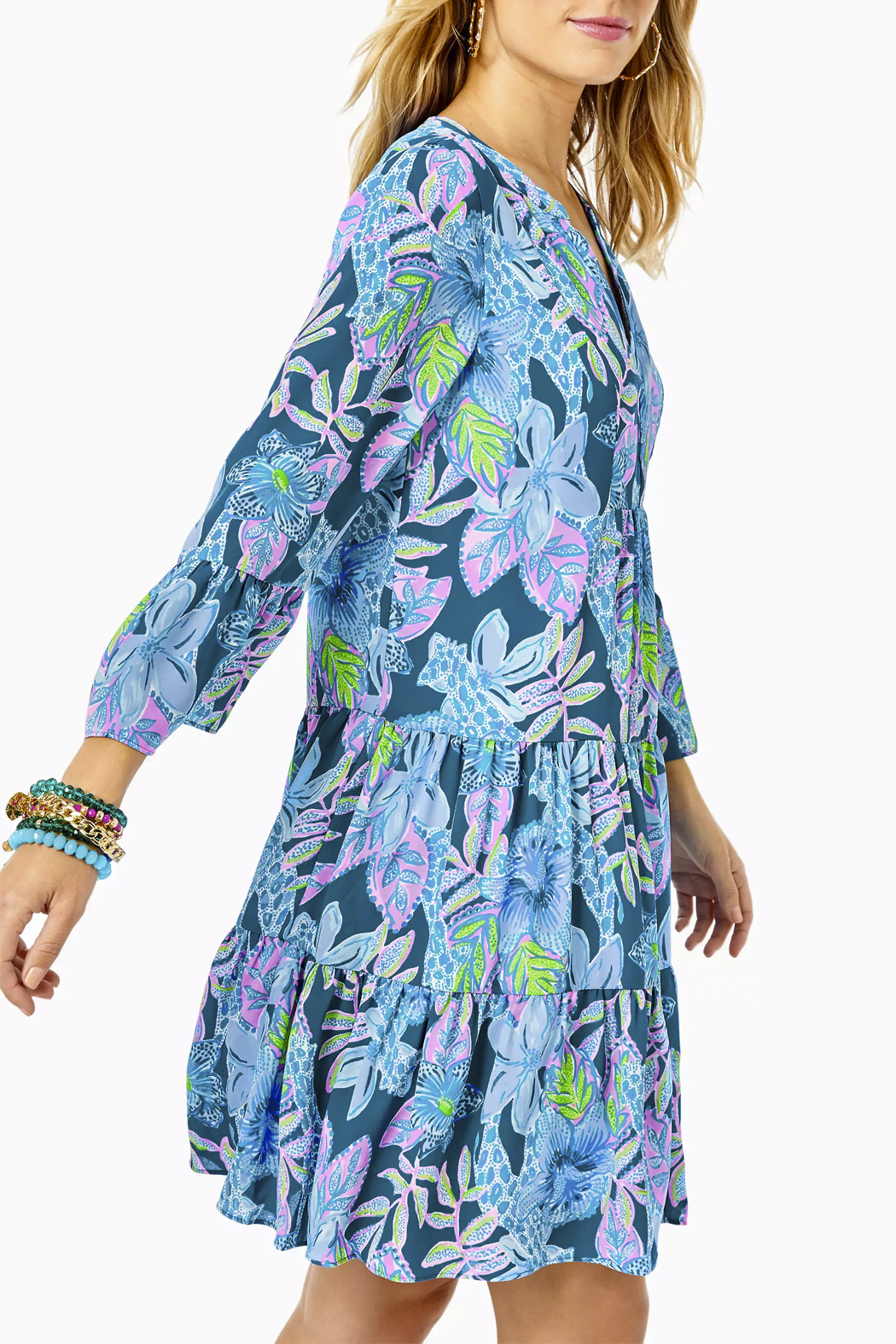 Lilly Pulitzer  Gabriel Dress - Side Cropped Image