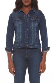 Lola Jeans Gabriella Classic Denim Jacket - Product Mini Image