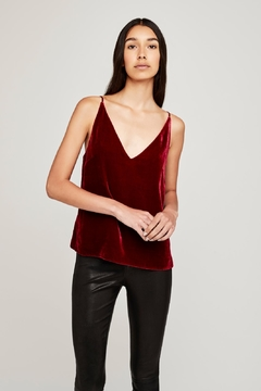 L'Agence Gabriella Velvet Camisole - Product List Image