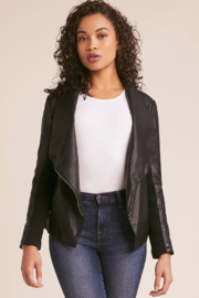BB Dakota Gabrielle Faux Leather Jacket - Product Mini Image