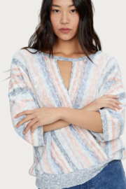 Michael Stars Gabrielle Front to Back Sweater - Back cropped