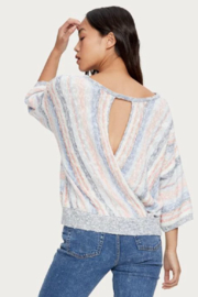 Michael Stars Gabrielle Front to Back Sweater - Side cropped