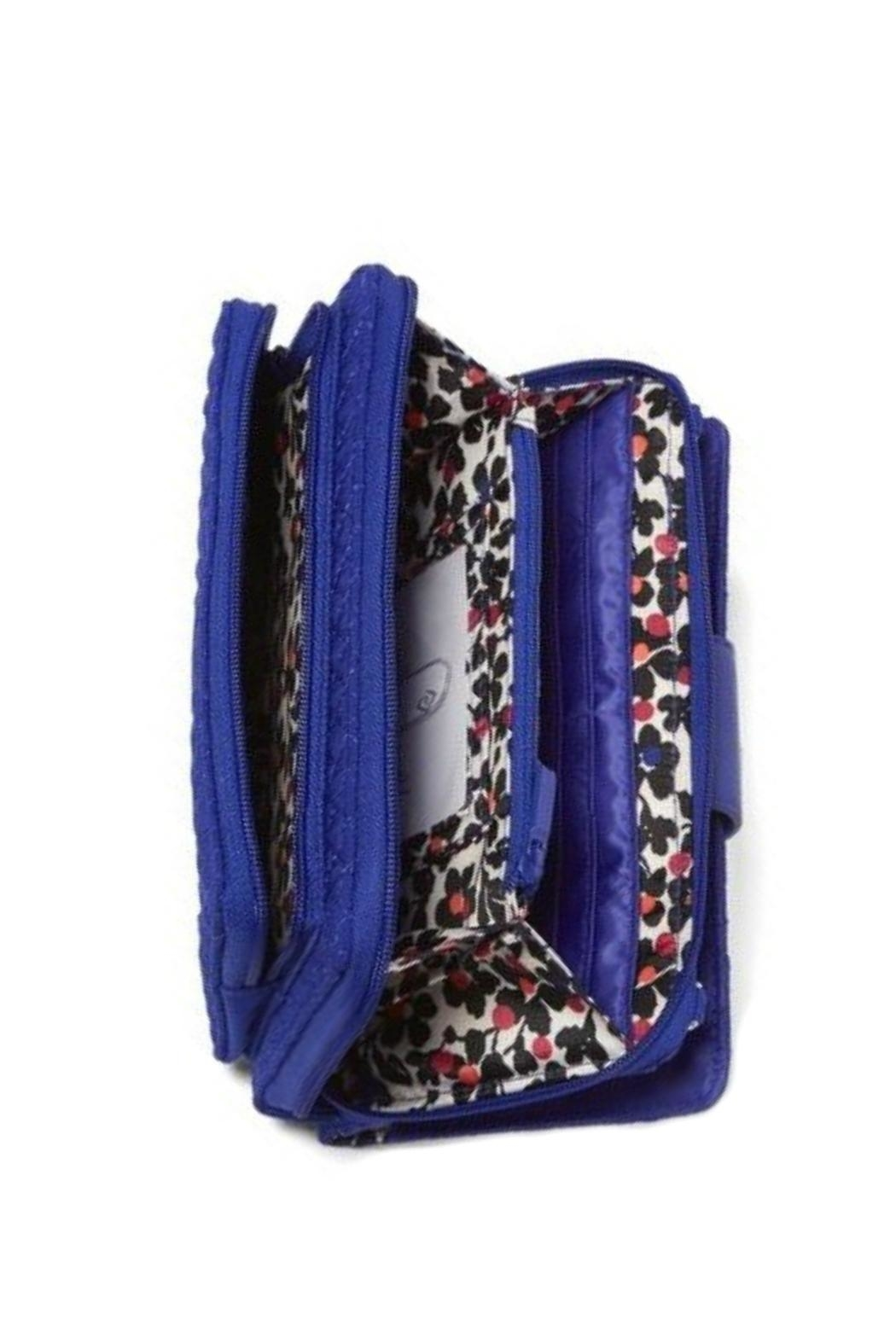 Vera Bradley Gage Blue Deluxe-Alltogether - Back Cropped Image