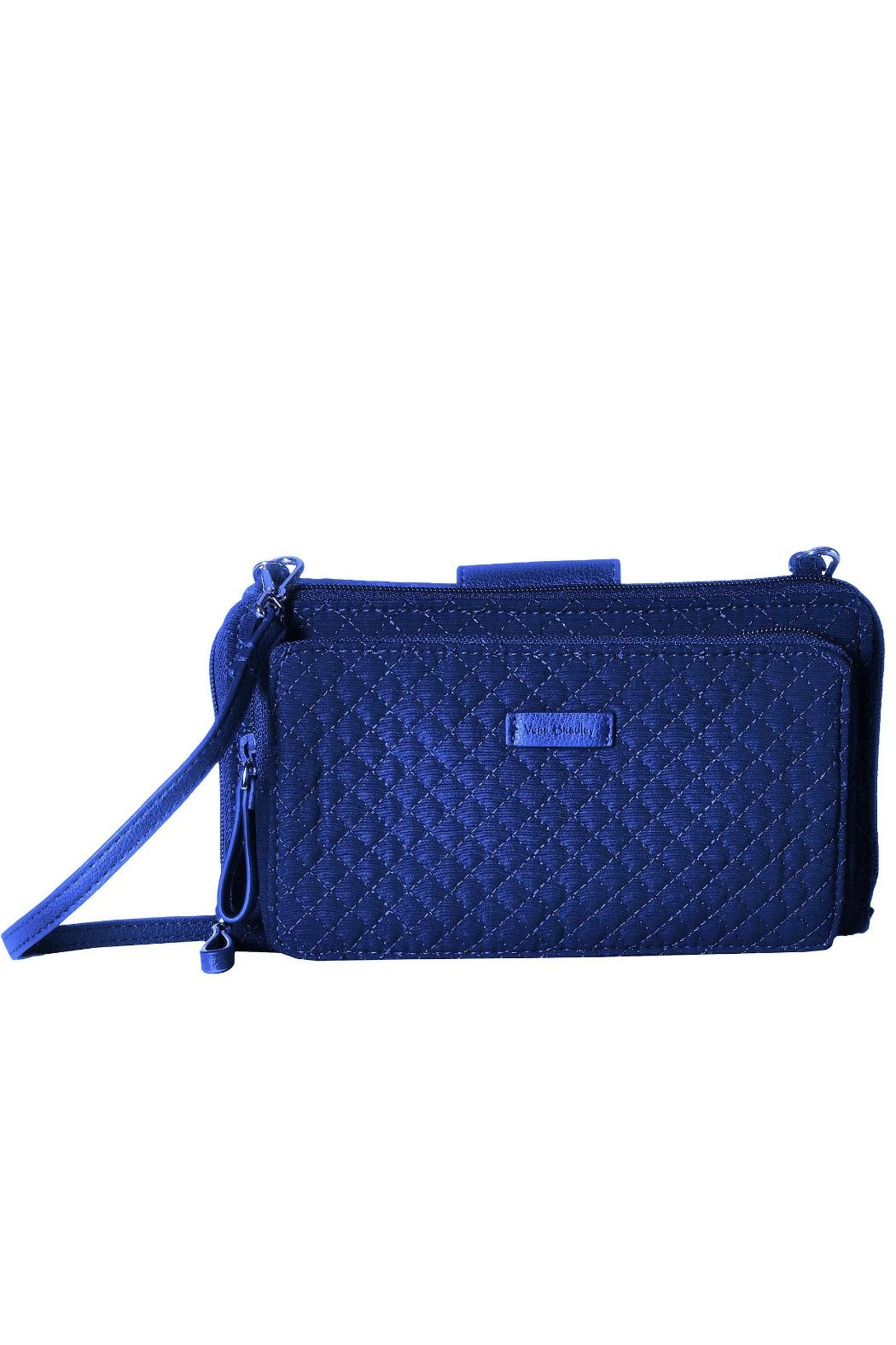Vera Bradley Gage Blue Deluxe-Alltogether - Front Cropped Image
