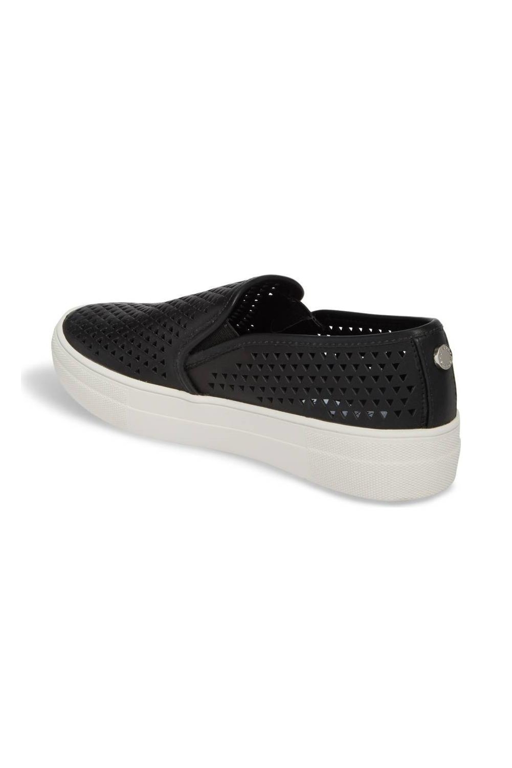 Steve Madden Gal-P Perforated Slip-On - Front Full Image