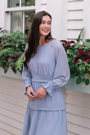 Gal Meets Glam Periwinkle Dress - Front full body