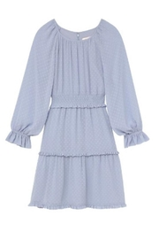 Gal Meets Glam Periwinkle Dress - Back cropped