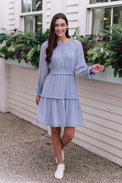 Gal Meets Glam Periwinkle Dress - Product List Image