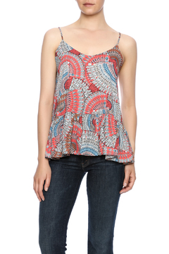 Gala Coral Printed Tank - Product List Image