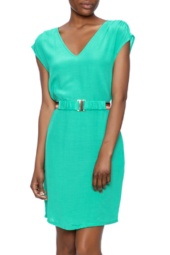 Shoptiques Product: Green V-Neck Tunic