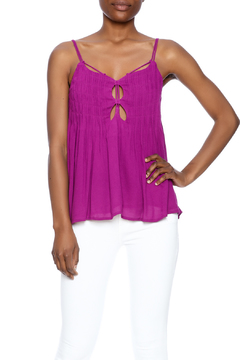 Shoptiques Product: Purple Strappy Tank