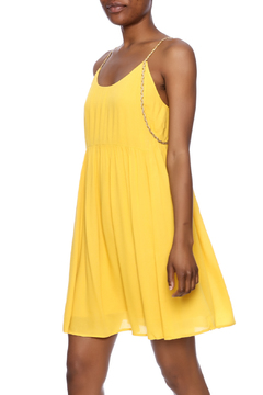 Shoptiques Product: Yellow Strappy Dress
