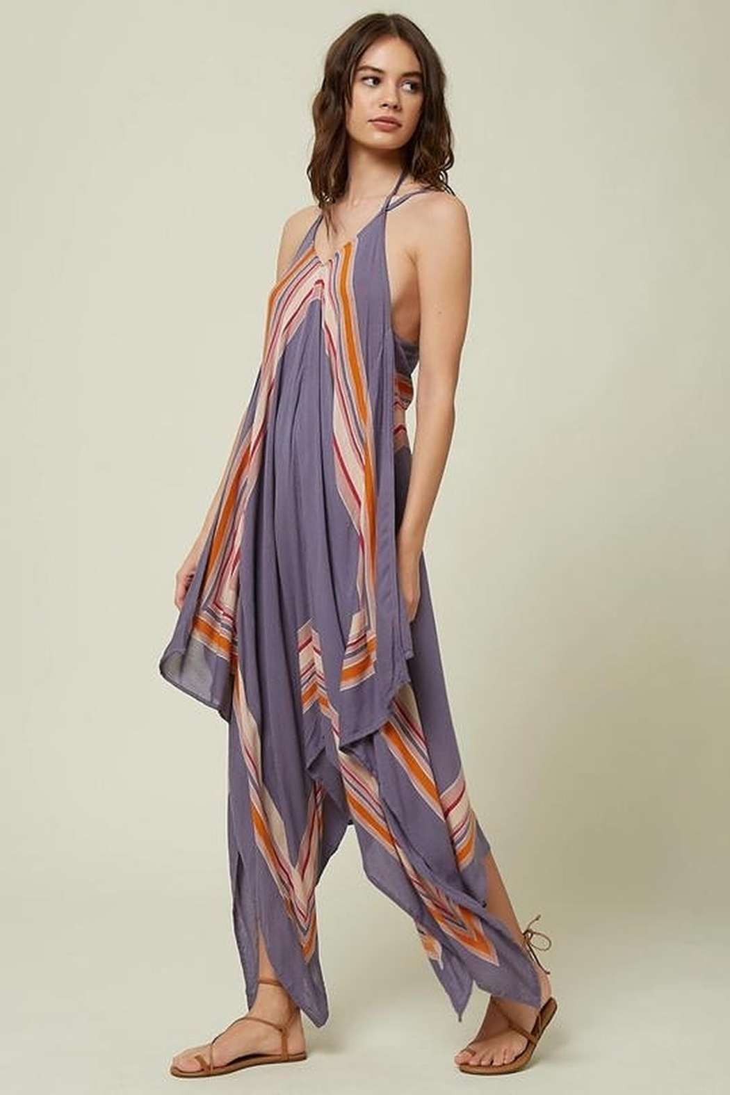 O'Neill Galaxy Cover-Up Dress - Front Full Image