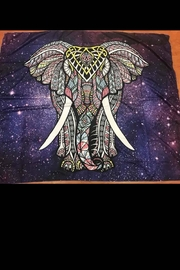 New Mix Galaxy Elephant Tapestry - Product Mini Image