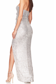Nookie Galaxy Gown - Front full body