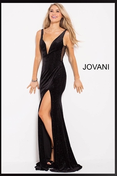 Jovani PROM Galaxy Velvet Gown - Product List Image