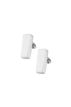 Galerias 925 Kelly Rectangle Studs - Product List Image