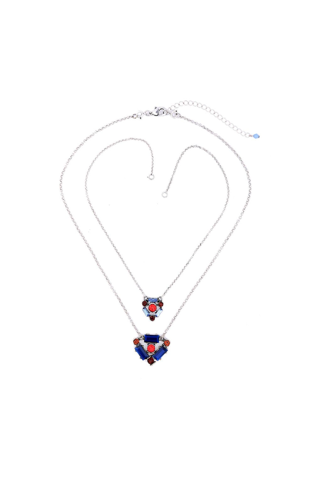 galys fashion house Ember Layered Necklace - Front Full Image