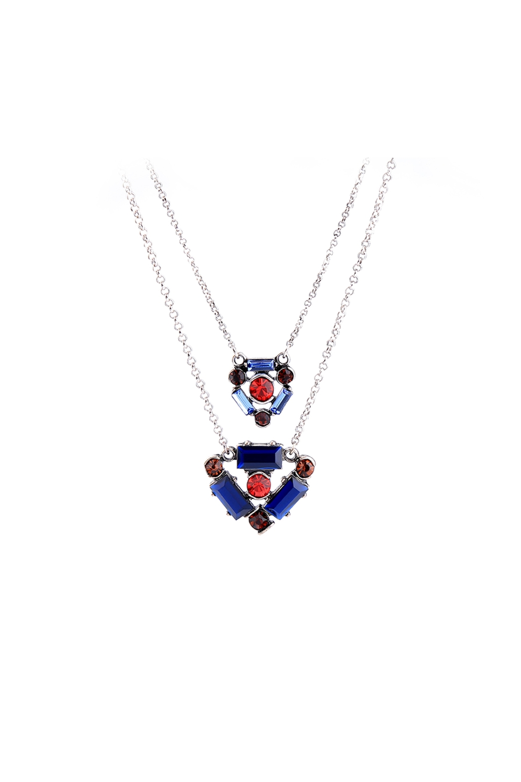 galys fashion house Ember Layered Necklace - Side Cropped Image