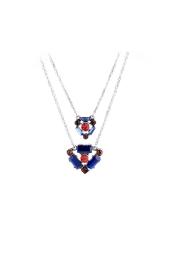 galys fashion house Ember Layered Necklace - Alternate List Image