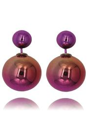 galys fashion house Gradient Double Pearls - Product Mini Image