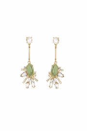 galys fashion house Heidi Drop Earrings - Front cropped