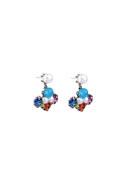galys fashion house Leslie Dangling Earrings - Front full body
