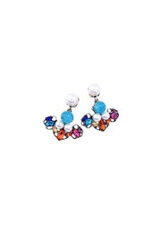 galys fashion house Leslie Dangling Earrings - Side cropped