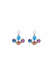 galys fashion house Leslie Dangling Earrings - Front cropped