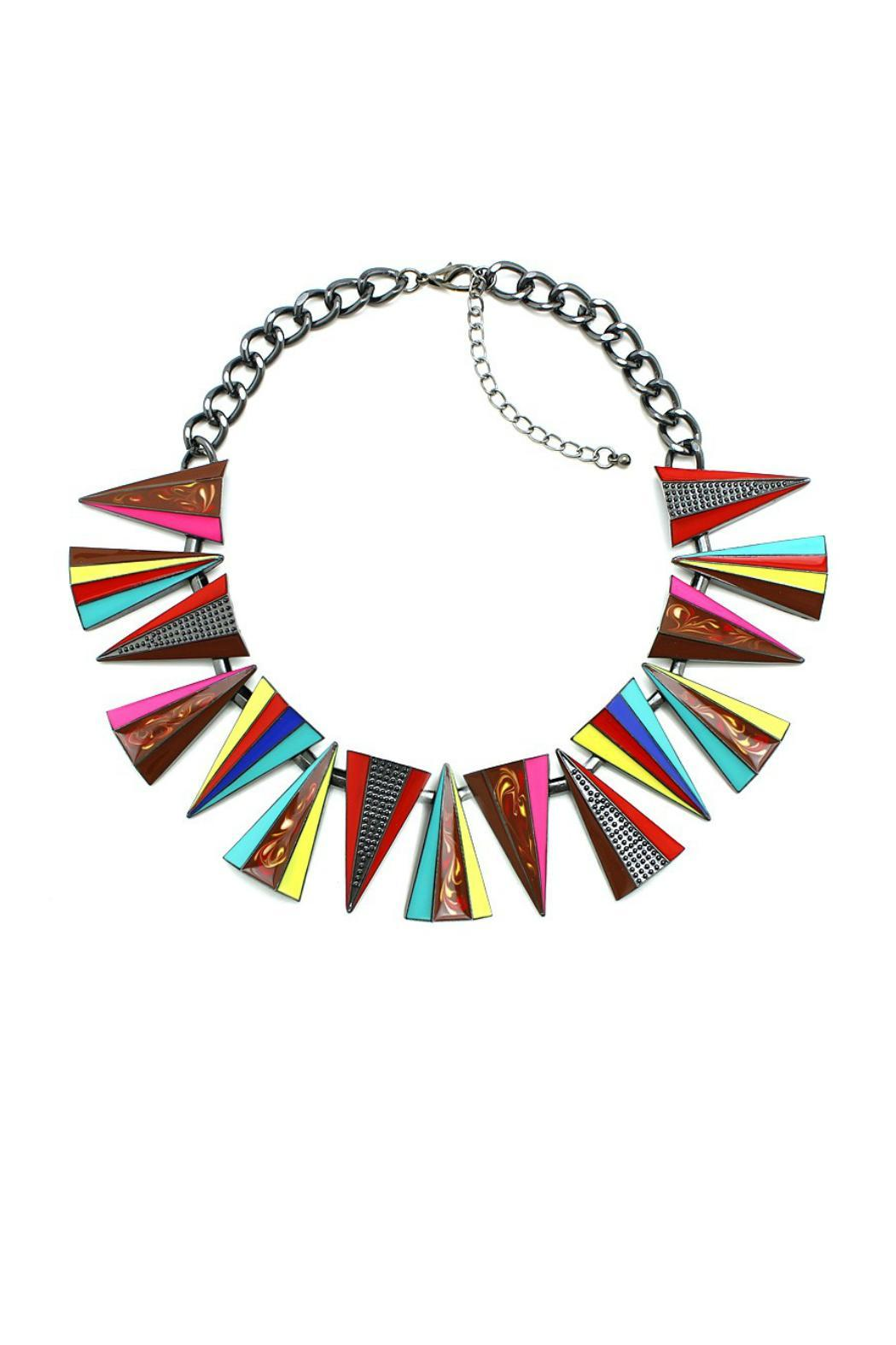 galys fashion house Metal Choker - Front Cropped Image